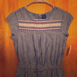 GAP Denim Romper
